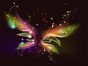 Butterfly of light