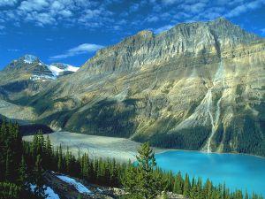 Glacier Lake Peyto, Banff National Park, Canada