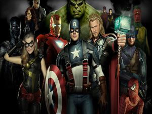 "Characters from ""The Avengers"""