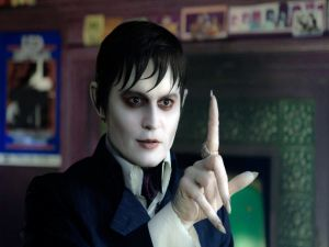 "The vampire Barnabas Collins (Johnny Depp) in ""Dark Shadows"""