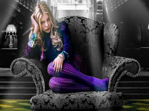 "Carolyn Stoddard (Chloë Grace Moretz) in ""Dark Shadows"""