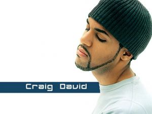 Craig David, English singer of R&B (rhythm and blues)