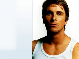 The British actor Christian Bale