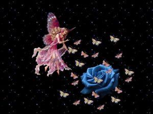 Fairy of the butterflies