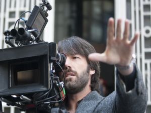 "Ben Affleck working of director in ""Argo"""