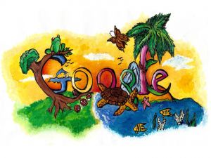 Doodle (Google logo) performed by Christin Engelberth (USA)