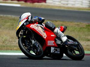 Motorbike rider Alex Garcia