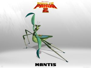 "Mantis from the movie ""Kung Fu Panda 2"""