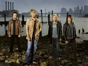 The American group Bon Jovi
