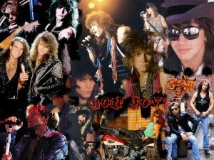 Bon Jovi Collage