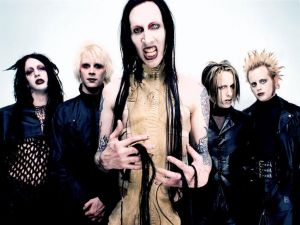 The industrial rock band Marilyn Manson