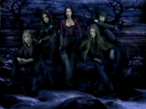 Nightwish, a symphonic metal band
