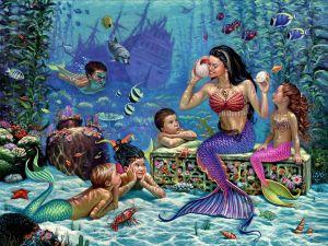 Mermaids school