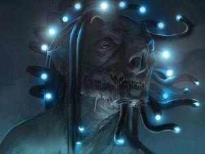 Terrifying creature