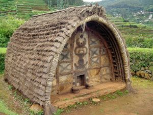 Hut of tribe Toda (Nilgiris, India)