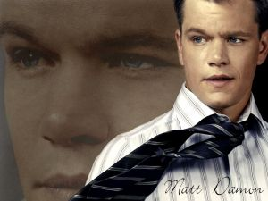 Matt Damon, American actor and screenwriter