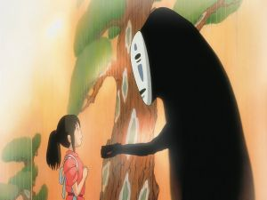 """No-Face"" and Chihiro"