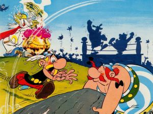 """Cover of """"Asterix and the Big Fight"""""""