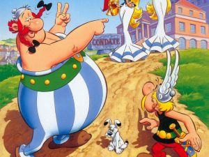 "Cover of ""Asterix and the Actress"""
