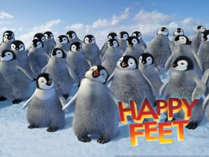 "Emperor penguins in ""Happy Feet"""