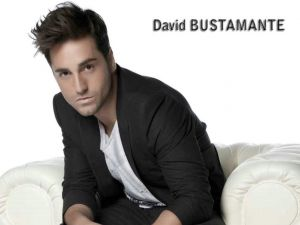 The singer David Bustamante