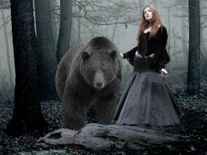 Killing with a bear