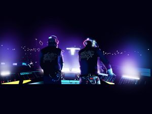 Daft Punk playing live