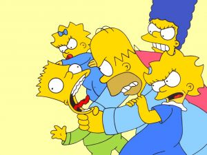 The Simpsons and his family squabbles