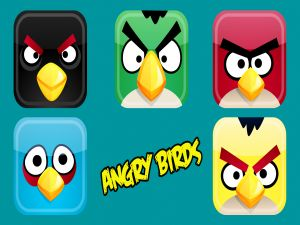 Square Angry Birds