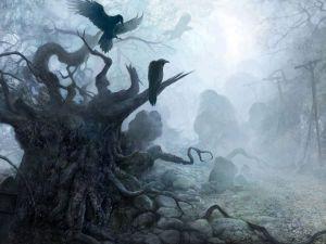 Tenebrous ravens