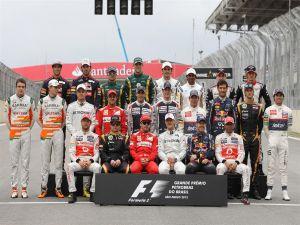 Formula 1 Drivers of the Brazilian Grand Prix 2012