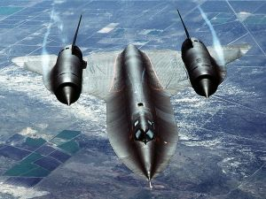 Strategic reconnaissance airplane Lockheed SR-71
