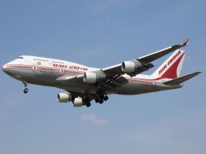 Boeing 747-400 of Air India