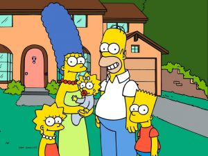 Photo of the Simpson family