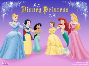 Disney Princesses in love