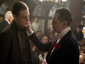 Nucky Thompson with Jimmy Darmody