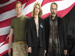 Carrie, Brody and Saul (Homeland)