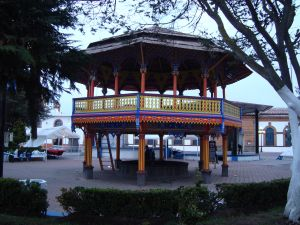 Kiosk at Chignahuapan, Puebla, Mexico