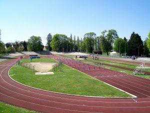 """Velodrome """"Turquet boisserie"""" at Senlis (France)"""