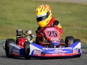 Giuliano Raucci in karting