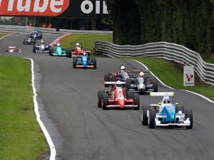 A race of single seaters
