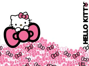 Hello Kitty with many bows