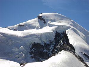 Allalinhorn, in the Pennine Alps