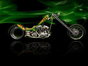 Harley-Davidson tuned