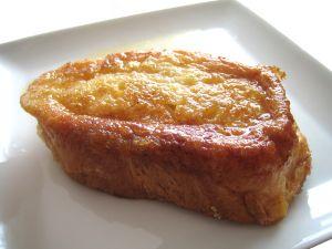 A delicious torrija