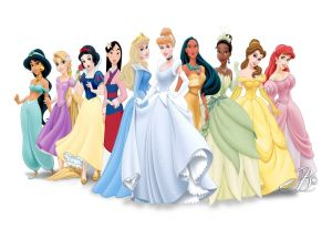 Disney Princesses Fashion Show