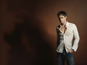 The Spanish singer and songwriter Enrique Iglesias