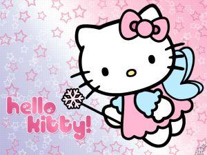 Hello Kitty of fairy godmother
