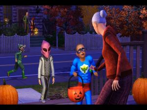 """Playing to """"The Sims 3"""""""