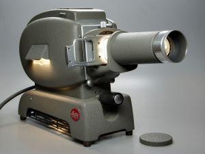 Leitz Prado 500, antique slide projector